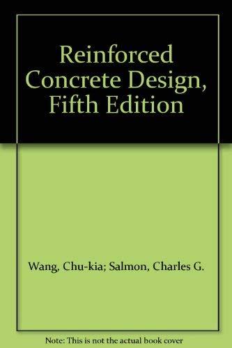 9780060468873: Reinforced Concrete Design