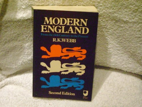9780060469740: Modern England: From the Eighteenth Century to the Present