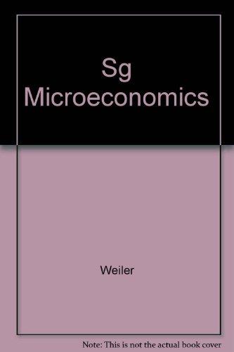 9780060470036: Sg Microeconomics