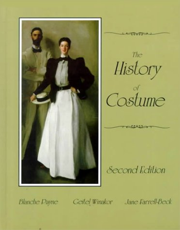 9780060471415: The History of Costume: From the Ancient Mesopotamians Through the Twentieth Century