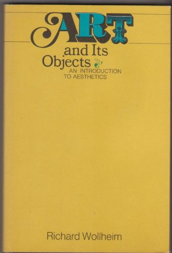 9780060471910: Art and Its Objects: Introduction to Aesthetics