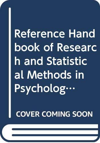 Reference Handbook of Research and Statistical Methods: YAREMKO R.M., HARARI