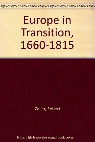 9780060473686: Europe in transition, 1660-1815
