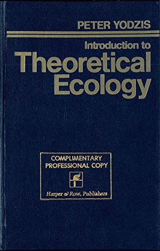 9780060473693: Introduction to Theoretical Ecology