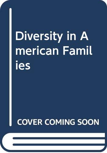 9780060473723: Diversity in American Families