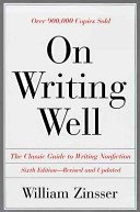 9780060473952: On Writing Well : An Informal Guide to Writing Nonfiction
