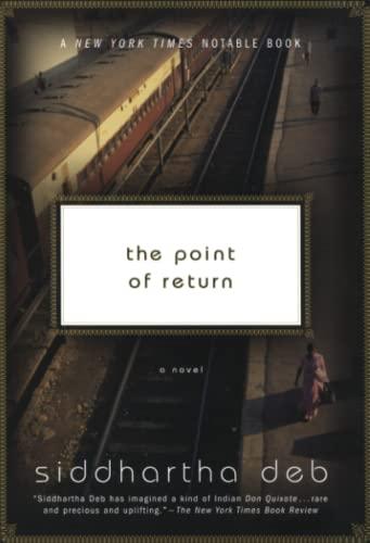 9780060501532: The Point of Return: A Novel