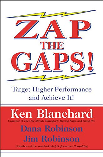 9780060503000: Zap the Gaps! Target Higher Performance and Achieve It!