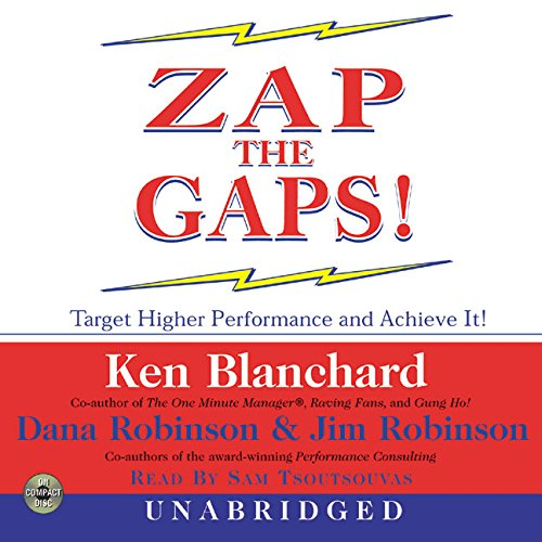 9780060503499: Zap the Gaps! CD: Target Higher Performance and Achieve It!