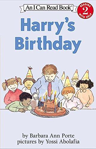 9780060503574: Harry's Birthday (I Can Read Level 2)