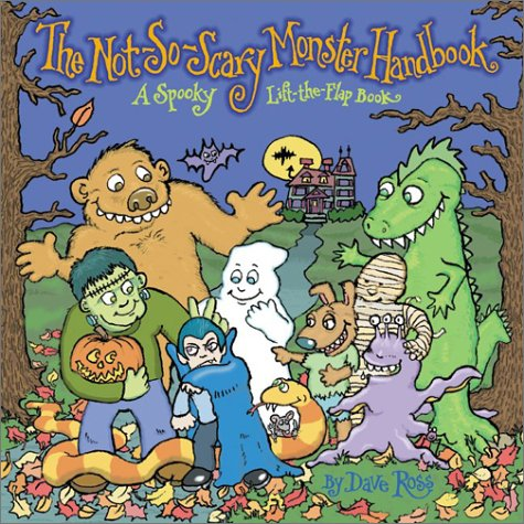 9780060504311: The Not-So-Scary Monster Handbook: A Spooky Lift-the-Flap Book