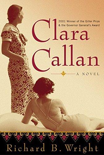 9780060506063: Clara Callan: A Novel