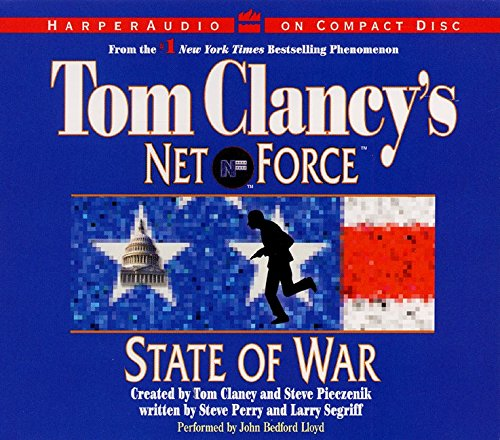 9780060508272: Tom Clancy's Net Force #7: State of War CD