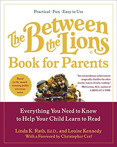 9780060510282: The Between the Lions (R) Book for Parents: Everything You Need to Know to Help Your Child Learn to Read