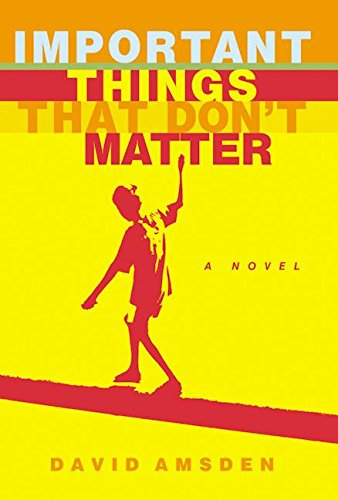 9780060513887: Important Things That Don't Matter