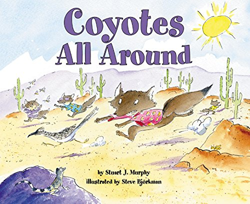 9780060515294: Coyotes All Around (Mathstart: Level 2 (HarperCollins Hardcover))