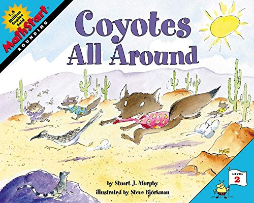 9780060515317: Coyotes All Around (Mathstart: Level 2 (HarperCollins Paperback))