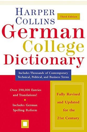 9780060515324: HarperCollins German College Dictionary 3rd Edition (Collins Language)