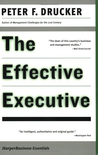 9780060516079: The Effective Executive