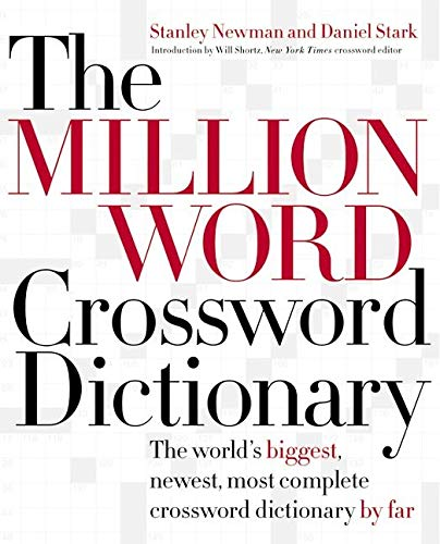 9780060517564: The Million Word Crossword Dictionary