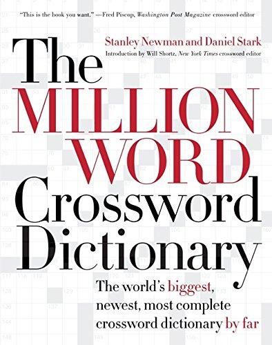 9780060517571: The Million World Crossword Dictionary
