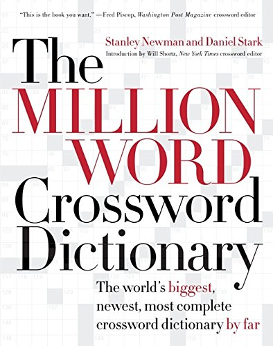 9780060517571: The Million Word Crossword Dictionary