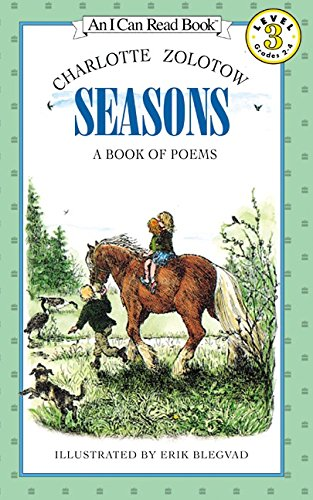 9780060518547: Seasons: A Book of Poems (I Can Read)