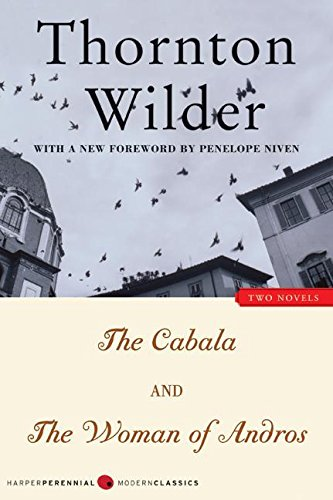 9780060518578: The Cabala and The Woman of Andros: Two Novels (Harper Perennial Modern Classics)