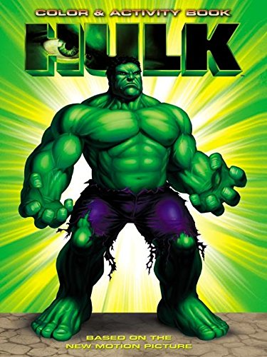 9780060519001: The Hulk: The Hulk Color & Activity Book