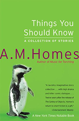9780060520137: Things You Should Know: A Collection of Stories