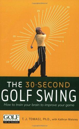 9780060520205: 30 Second Golf Swing