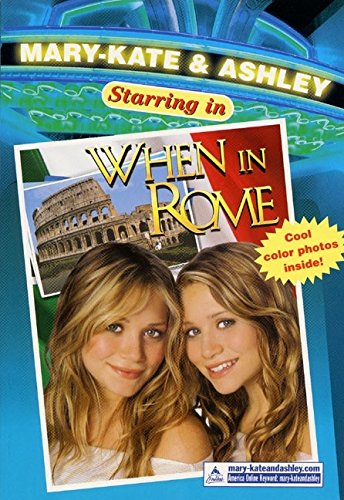 9780060520533: Mary-Kate & Ashley Starring in #5: When in Rome: When in Rome