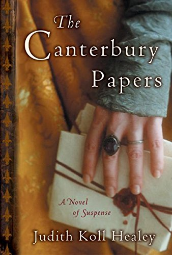 9780060525354: The Canterbury Papers: A Novel of Suspense