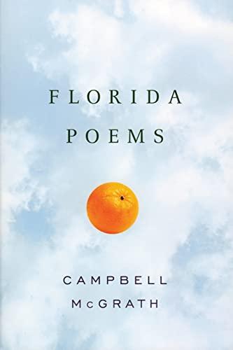 9780060527365: Florida Poems
