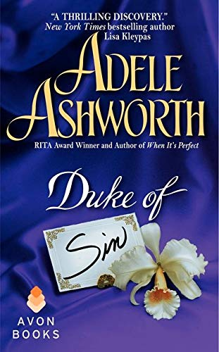 Duke of Sin (Avon Romantic Treasure)