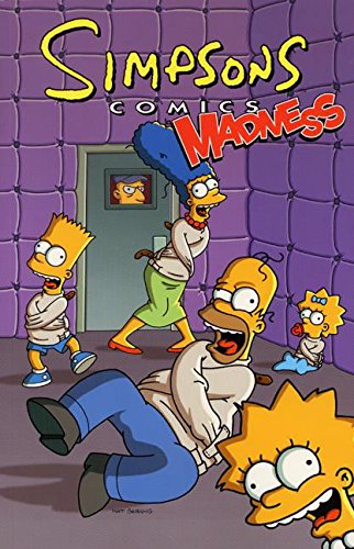 9780060530617: Simpsons Comics Madness! (Simpsons Comic Compilations)