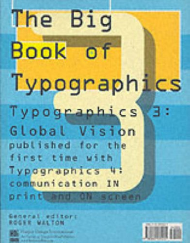 9780060531201: The Big Book of Typographics 3 and 4
