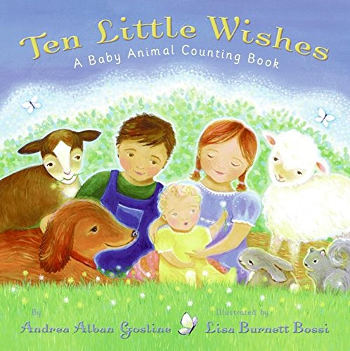 9780060534103: Ten Little Wishes: A Baby Animal Counting Book