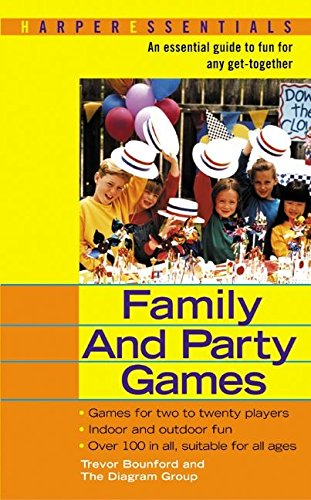 9780060534561: Family and Party Games