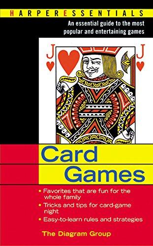 9780060534578: Card Games (Harper Essentials)