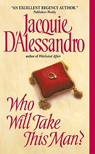 9780060536701: Who Will Take This Man? (Avon Historical Romance)