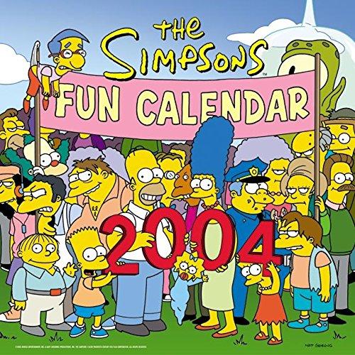 9780060536763: The Simpsons 2004 Fun Calendar