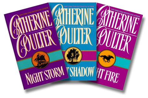 9780060537470: Catherine Coulter Set (Night Fire / Night Shadow / Night Storm) (Night Trilogy)
