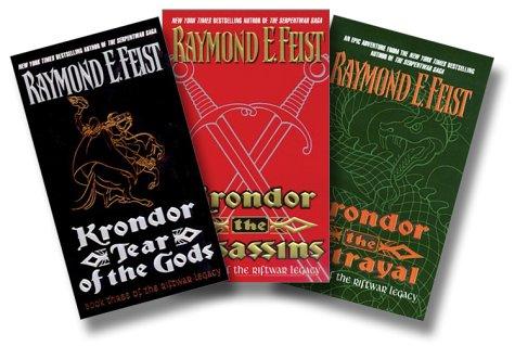 9780060537531: Krondor Riftwar Trilogy: Krondor the Betrayal, Krondor the Assassins, Krondor Tear of the Gods