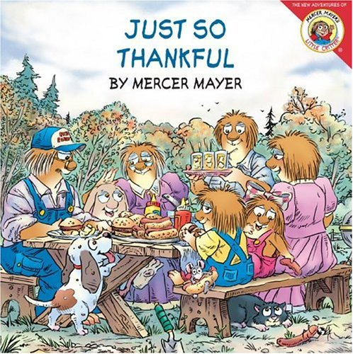 9780060539504: Just So Thankful (Little Critter (8x8))