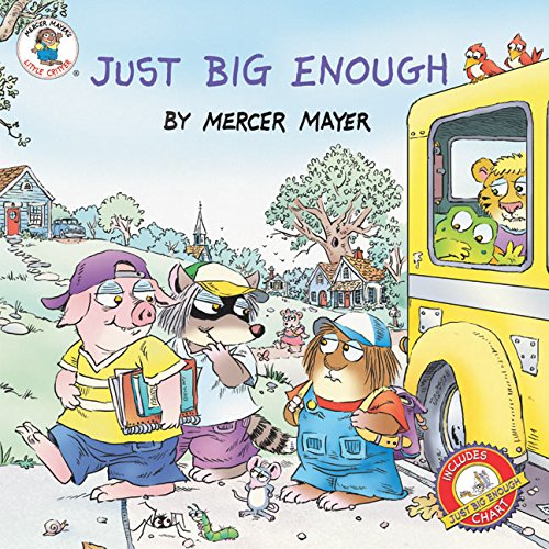 9780060539634: Just Big Enough (Little Critter the New Adventures)