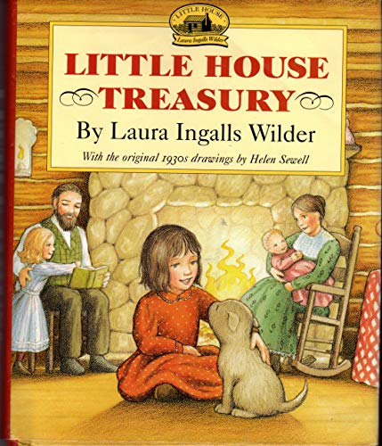 9780060539795: The Little House Treasury: Little House in the Big Woods / Little House on the Prairie / On the Banks of Plum Creek
