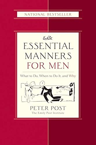 9780060539801: Essential Manners for Men: What to Do, When to Do it and Why (Emily Post)