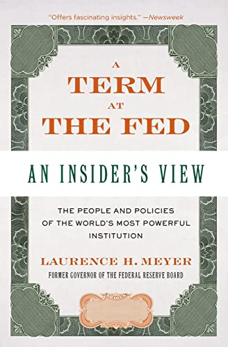 9780060542719: A Term at the Fed: An Insider's View