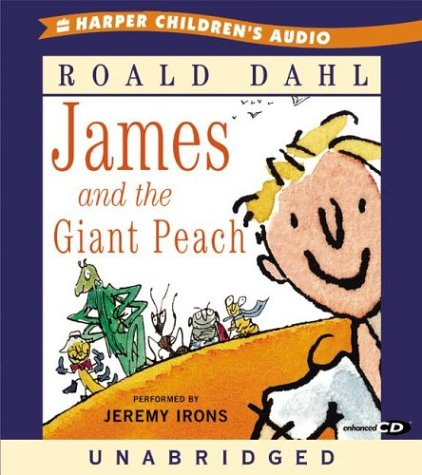 9780060542726: James and the Giant Peach CD